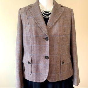 NWOT Ann Taylor wool blazer fully lined